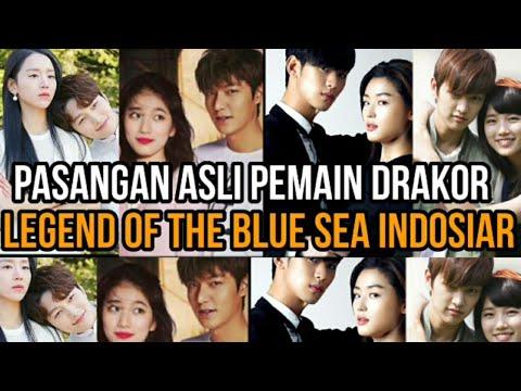 Pasangan Asli Pemain Drakor Legend Of The Blue Sea Indosiar