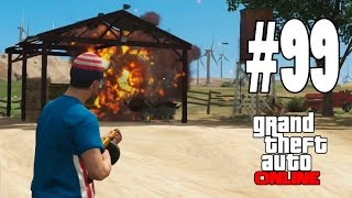 GTA V ONLINE Online &quotUN POLICIA MUY LOCO!!&quot #99 - GTA 5 ONLINE Gameplay