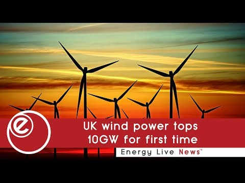 UK wind power tops 10GW for first time