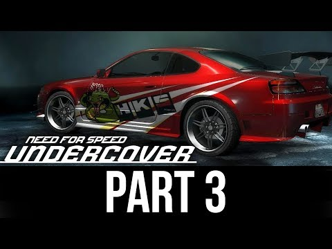 NEED FOR SPEED UNDERCOVER Gameplay Walkthrough Part 3 - CUSTOMIZATION