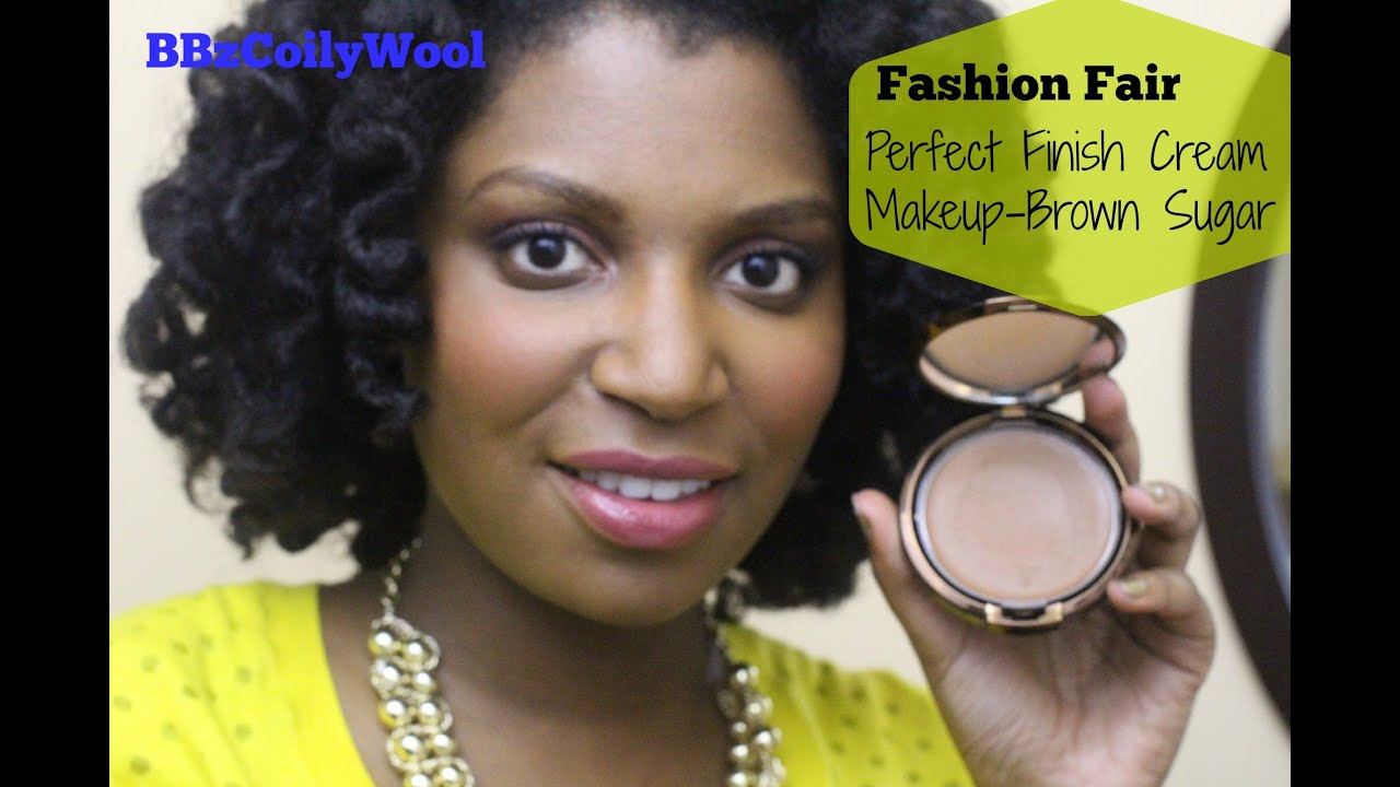 Fashion Fair Beauty Products: Fashion Fair Cream Makeup Brown Sugar - YouTube