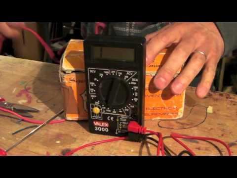 Come usare il tester elettrico per trovare un corto circuito