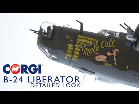 Corgi | AA34018 B-24 Liberator 'Male Call' - YouTube