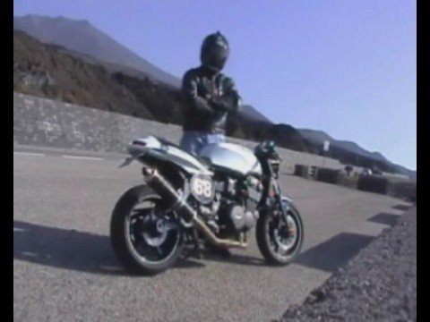 """Cafe Racer Triumph Trident 750 1996 T300 """"Lupara Bianca"""