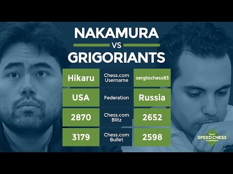 Speed Chess Championship: Hikaru Nakamura vs Sergey Grigoriants