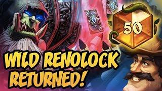 Hearthstone: TOP 50 LEGEND - Wild Renolock Returned!