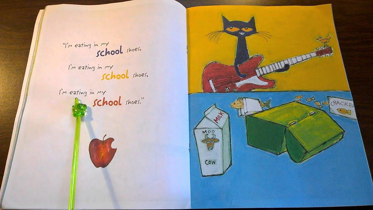 Pete The Cat School Shoes Read Aloud
