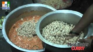 Meal Maker Curry - Rajahmundry Street Foods - Andhra Street Food