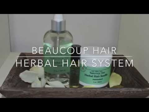 How I Grew Long Hair in Eight Months with the Herbal Hair System!