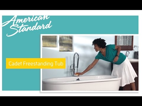 Cadet Freestanding Soaker Tub from American Standard