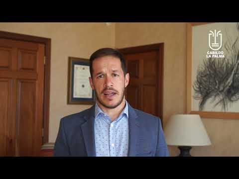 El Presidente del Cabildo de La Palma nos habla de cómo se llevará a cabo el reparto de Mascarillas