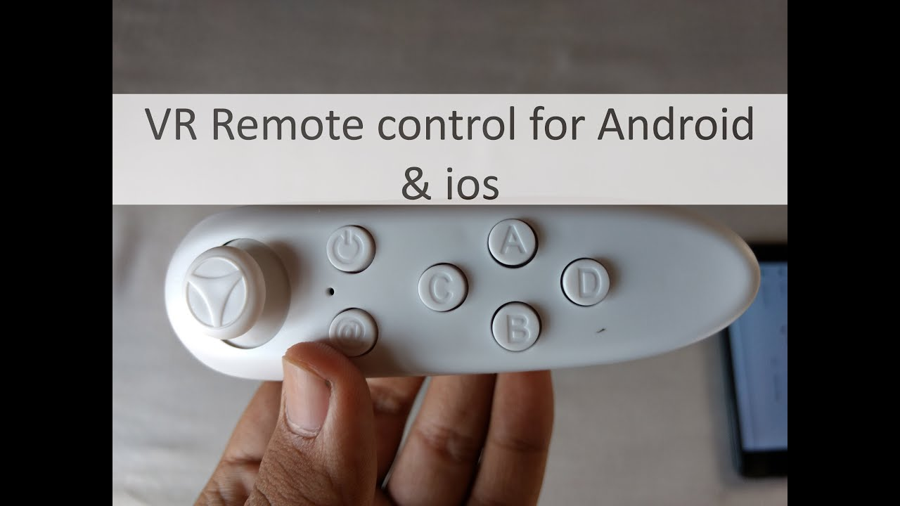 7e33ef546a9 VR Remote control for ANdroid and ios - YouTube