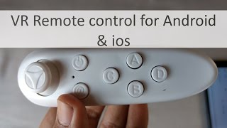 VR Remote control for ANdroid and ios