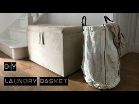 DIY Laundry Basket | Storage Basket