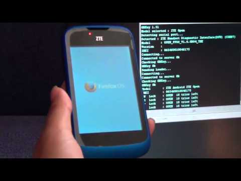 ZTE OPEN Direct Unlock