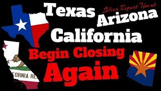 It's Happening! Arizona, Texas, & California Close Bars, Clubs, Theaters,  Beaches or School Dates