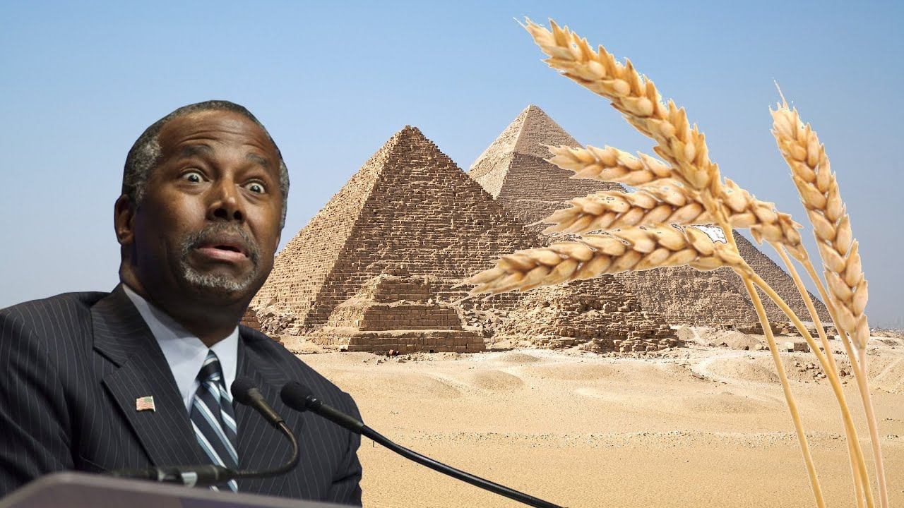 Image result for ben carson pyramids
