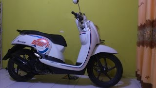 Video Review Honda Scoopy ESP Sporty Active 110 cc download MP3, 3GP, MP4, WEBM, AVI, FLV November 2017