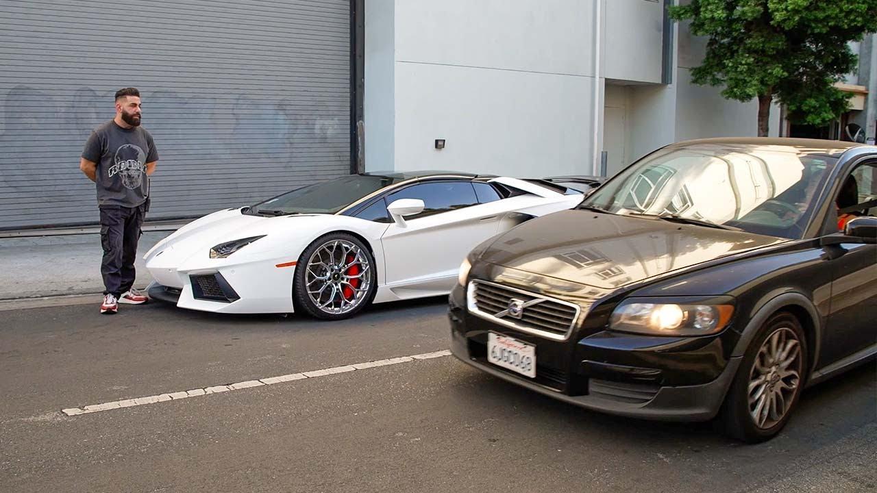 Lamborghini attacked in Public, Ferrari F8 $50,000 Body Kit.