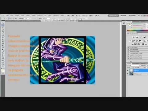 Tutorial: Crear tus propias card sleeves para YGOPRO  by Blackcaesar9