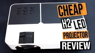 H2 LED CHEAP BUDGET PROJECTOR: GREAT FOR CARTOONS ?