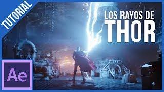 Los Rayos De Thor En After Effects || Tutorial