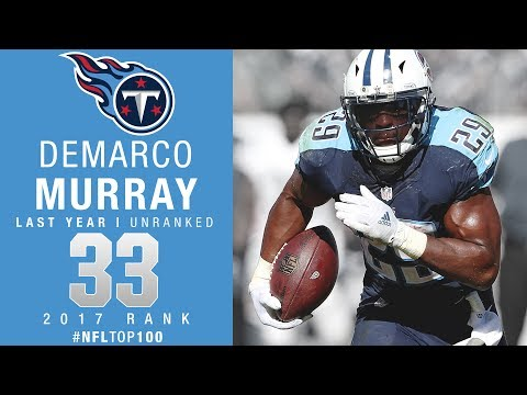 #33: DeMarco Murray (RB, Titans) | Top 100 Players of 2017 | NFL
