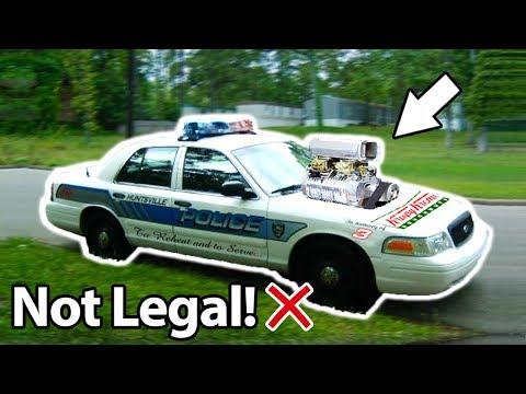 10 Illegal Car Modifications!! 🚓