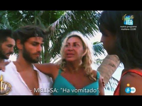 'Supervivientes 2018': Raquel Mosquera toca fondo y es evacuada de Cayo Paloma