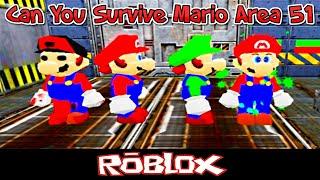 Kannst du Mario Area 51 Mario von CordaeThePrince überleben [Roblox]