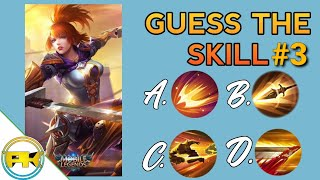 Guess the SKILL part 3 • Mobile Legends Quiz #16 • Skin Giveaway • screenshot 4