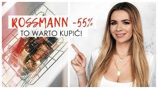 ROSSMANN -49% -55% KWIECIEŃ 2018 | TO WARTO KUPIĆ! | CheersMyHeels