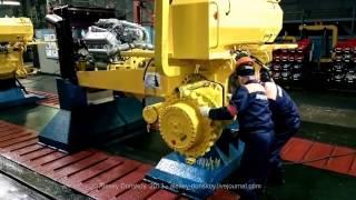 Производство бульдозеров ЧЕТРА на Промтракторе