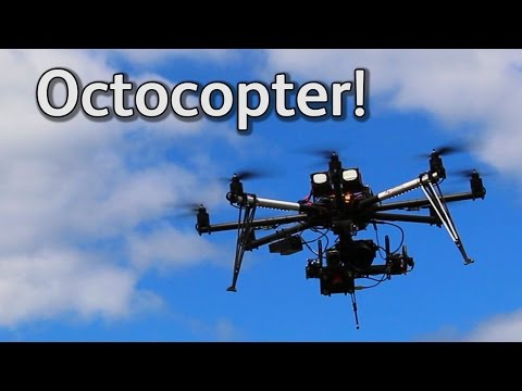 Octocopter! Drone for research