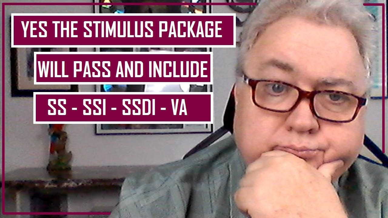 YES!!! WILL THE 4TH STIMULUS PACKAGE PASS SOON AND SS SSI SSDI & VA