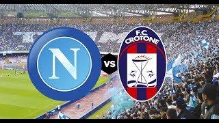 Napoli-crotone live reactions e lotta salvezza