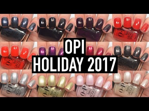 OPI - Love OPI, XOXO (Holiday 2017) | Swatch and Review