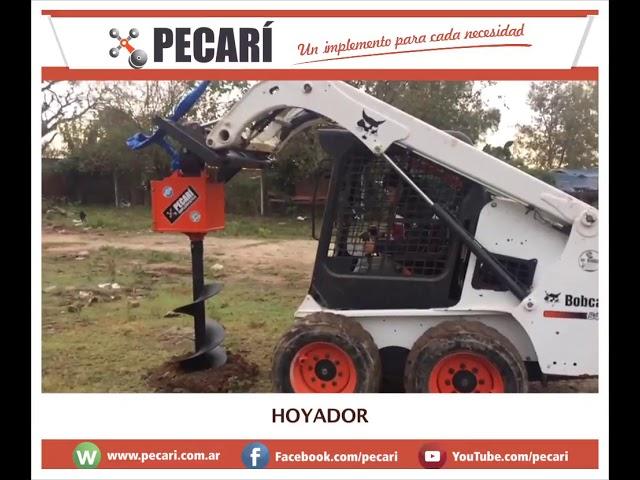 Hoyadora Pecarí | Julio 2018
