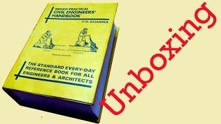 PN Khanna Civil Engineering Handbook Un boxing TA0068