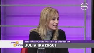 Julia Irazoqui - Asesora legal de Propietarios Créditos UVA