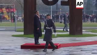 German Chancellor Merkel welcomes Polish PM Morawiecki
