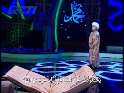 Aza VS rasyid Segmen Menantang Surat - Hafiz Indonesia 2014