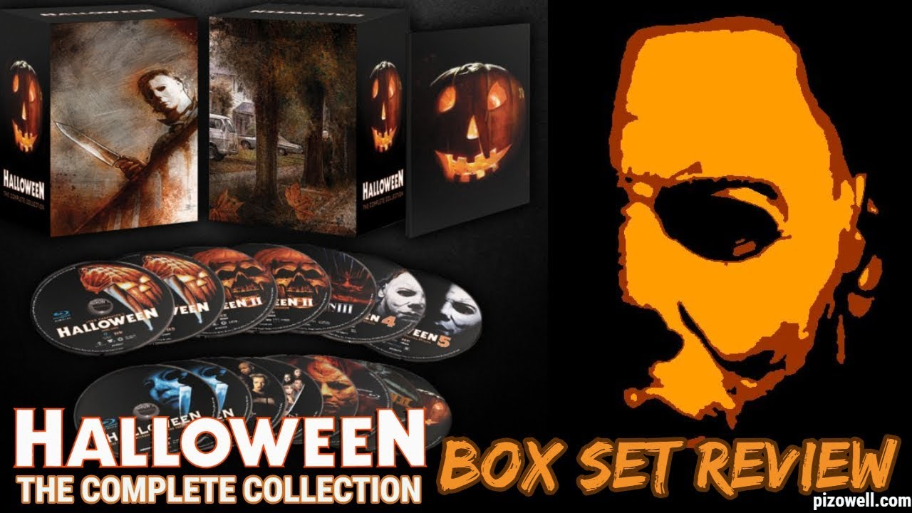Halloween Blu Ray Box Set.Halloween The Complete Collection Blu Ray Review