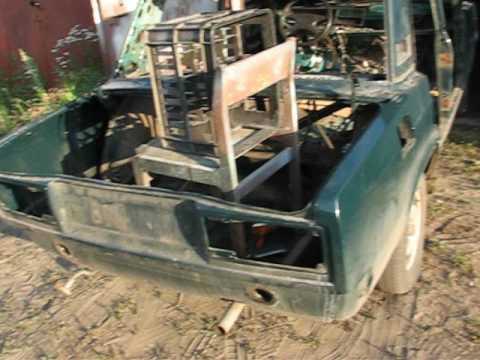 Демонтаж двигателя ВАЗ-2107.
