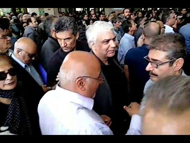 Iran, Funerailles d'Amir Entezam, ancien ministre iranien qui s'est opposé aux mollahs