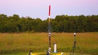 Silo-Launched Model Rocket - Thoomp Flight 1