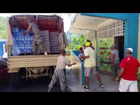 Aid to Damian Abajo