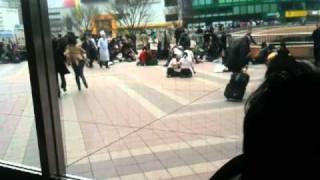 東日本大震災仙台駅構内 thumbnail