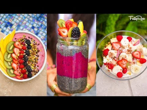 3 FULLYRAW VEGAN BREAKFAST RECIPES YOU NEED TO TRY!
