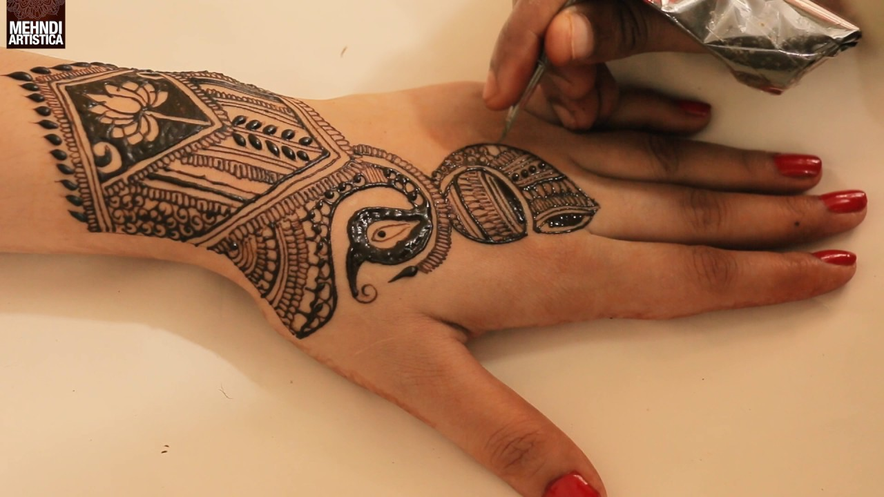 How To Apply New Latest Indian Wedding Henna Mehndi Designs For